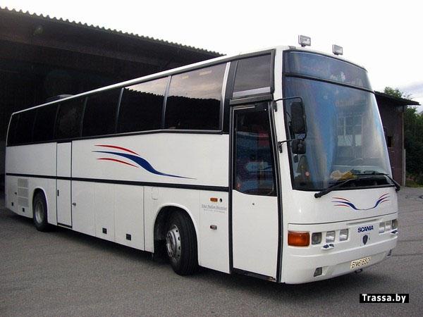 автобусы в белоруссии