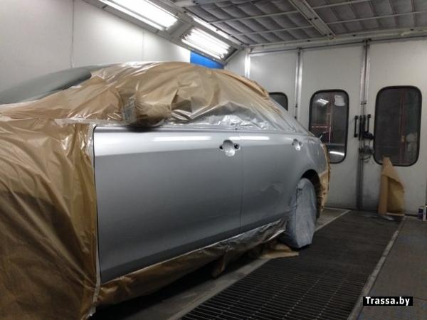 Кузовной ремонт авто в минске