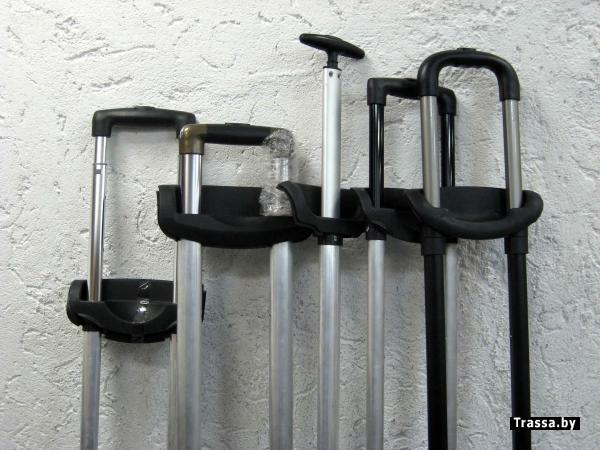 Ремонт телескопической ручки чемодана на колесах