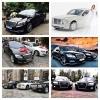 Аренда авто на свадьбу.  Mercedes,  Chrysler,  BMW,  AUDI,  Лимузины.